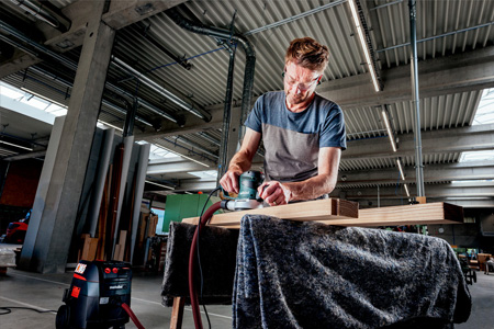 Metabo SXE 450 TurboTec puissance